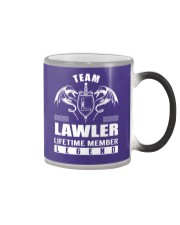 Team LAWLER Lifetime Member - Name Shirts Color Changing Mug thumbnail