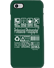 Professional Photographer Phone Case thumbnail