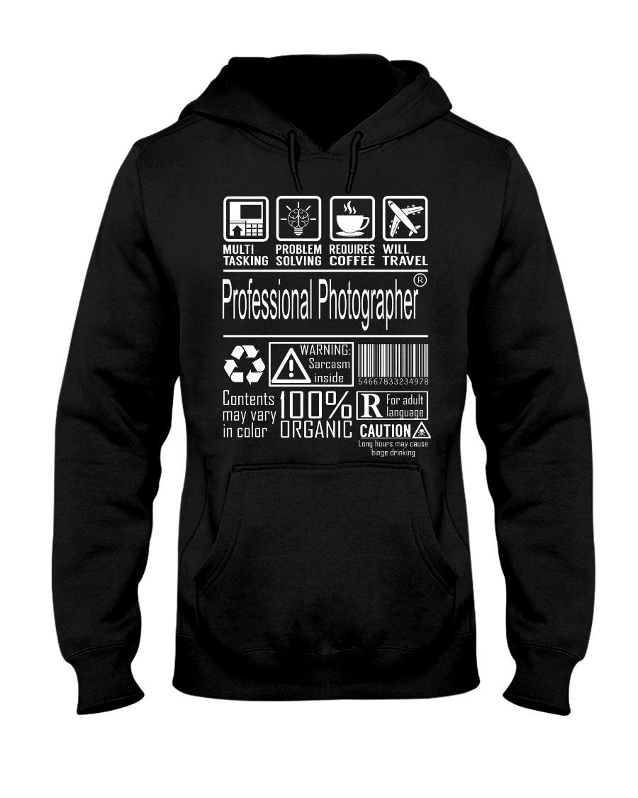 Professional Photographer Hooded Sweatshirt