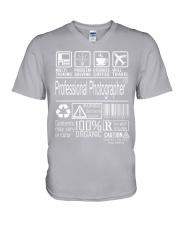 Professional Photographer V-Neck T-Shirt thumbnail
