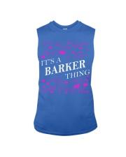 Its a BARKER Thing - Name Shirts Sleeveless Tee thumbnail