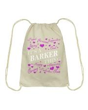 Its a BARKER Thing - Name Shirts Drawstring Bag thumbnail