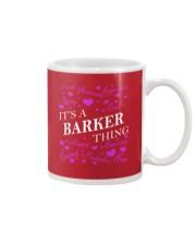 Its a BARKER Thing - Name Shirts Mug thumbnail