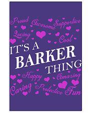Its a BARKER Thing - Name Shirts 11x17 Poster thumbnail