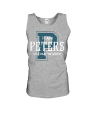 Team PETERS - Lifetime Member Unisex Tank thumbnail