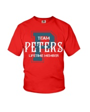 Team PETERS - Lifetime Member Youth T-Shirt thumbnail