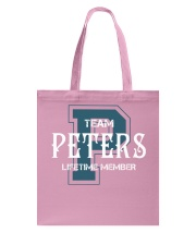 Team PETERS - Lifetime Member Tote Bag thumbnail