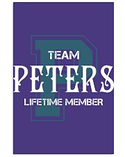 Team PETERS - Lifetime Member 11x17 Poster thumbnail