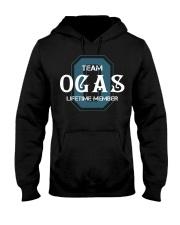 Team OGAS - Lifetime Member Hooded Sweatshirt front