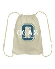 Team OGAS - Lifetime Member Drawstring Bag thumbnail