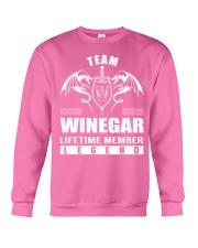 Team WINEGAR Lifetime Member - Name Shirts Crewneck Sweatshirt thumbnail
