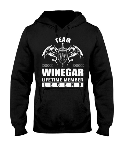 Team WINEGAR Lifetime Member - Name Shirts