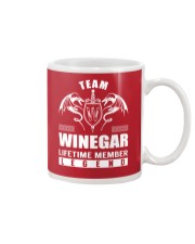 Team WINEGAR Lifetime Member - Name Shirts Mug thumbnail