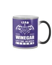 Team WINEGAR Lifetime Member - Name Shirts Color Changing Mug thumbnail