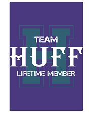Team HUFF - Lifetime Member Vertical Poster tile