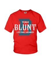 Team BLUNT - Lifetime Member Youth T-Shirt thumbnail