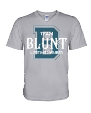 Team BLUNT - Lifetime Member V-Neck T-Shirt thumbnail