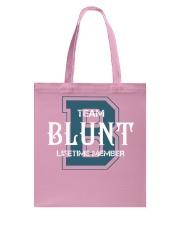 Team BLUNT - Lifetime Member Tote Bag thumbnail