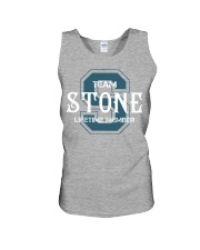Team STONE - Lifetime Member Unisex Tank tile