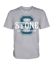 Team STONE - Lifetime Member V-Neck T-Shirt thumbnail