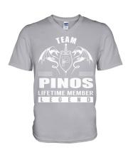 Team PINOS Lifetime Member - Name Shirts V-Neck T-Shirt thumbnail