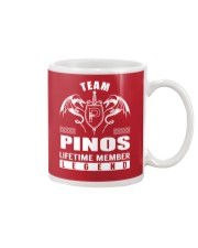 Team PINOS Lifetime Member - Name Shirts Mug thumbnail