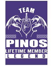 Team PINOS Lifetime Member - Name Shirts 11x17 Poster thumbnail