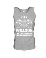 Team WILLSON Lifetime Member - Name Shirts Unisex Tank thumbnail