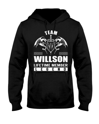 Team WILLSON Lifetime Member - Name Shirts