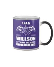 Team WILLSON Lifetime Member - Name Shirts Color Changing Mug thumbnail