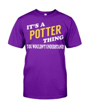 Its a POTTER Thing - Name Shirts Classic T-Shirt tile