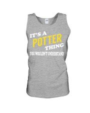 Its a POTTER Thing - Name Shirts Unisex Tank tile