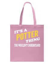 Its a POTTER Thing - Name Shirts Tote Bag tile