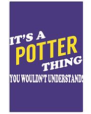 Its a POTTER Thing - Name Shirts Vertical Poster tile