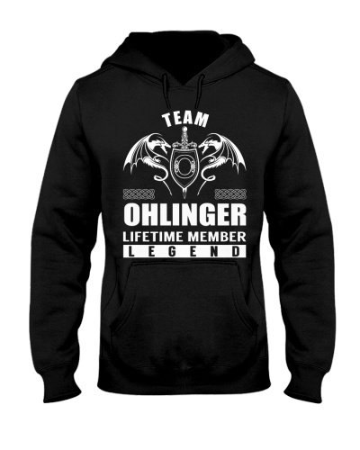 Team OHLINGER Lifetime Member - Name Shirts