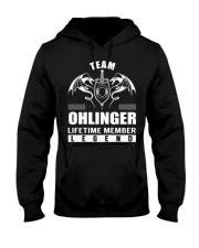 Team OHLINGER Lifetime Member - Name Shirts Hooded Sweatshirt front
