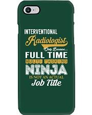 Interventional Radiologist - NINJA Job Title Phone Case thumbnail