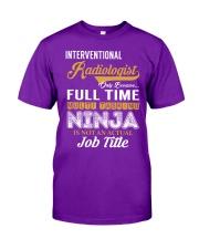 Interventional Radiologist - NINJA Job Title Classic T-Shirt thumbnail