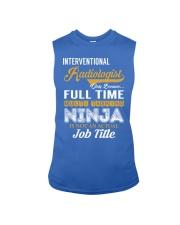 Interventional Radiologist - NINJA Job Title Sleeveless Tee thumbnail