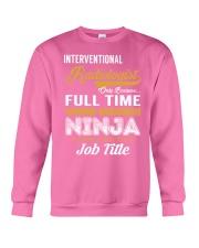 Interventional Radiologist - NINJA Job Title Crewneck Sweatshirt thumbnail
