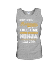 Interventional Radiologist - NINJA Job Title Unisex Tank thumbnail