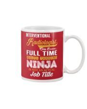 Interventional Radiologist - NINJA Job Title Mug thumbnail