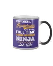 Interventional Radiologist - NINJA Job Title Color Changing Mug thumbnail