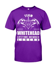 Team WHITEHEAD Lifetime Member - Name Shirts Classic T-Shirt thumbnail