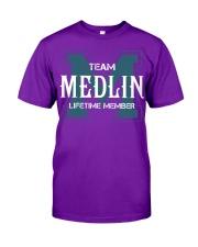 Team MEDLIN - Lifetime Member Classic T-Shirt thumbnail