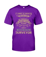 Surveyor - Forever Job Title Classic T-Shirt thumbnail