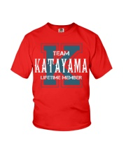 Team KATAYAMA - Lifetime Member Youth T-Shirt thumbnail