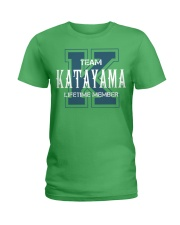 Team KATAYAMA - Lifetime Member Ladies T-Shirt thumbnail