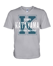 Team KATAYAMA - Lifetime Member V-Neck T-Shirt thumbnail