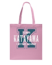 Team KATAYAMA - Lifetime Member Tote Bag thumbnail